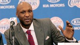 Lamar Odom, ex alero de Los Ángeles Lakers en la NBA