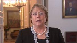 La presidente de Chile, Michelle Bachelet, anunció el inicio del proceso para una nueva constitución