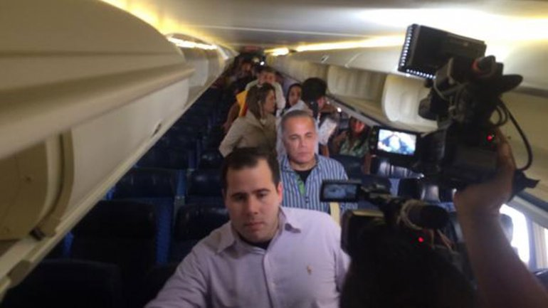 Manuel Rosales fue detenido el jueves cuando llegó a Venezuela