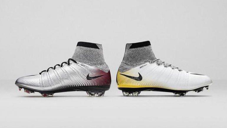 Nike hizo dos nuevo botines para celebrar los nuevo récord de Cristiano Ronaldo