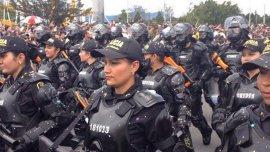 La Policía colombiana estuvo involucrada en los dos operativos
