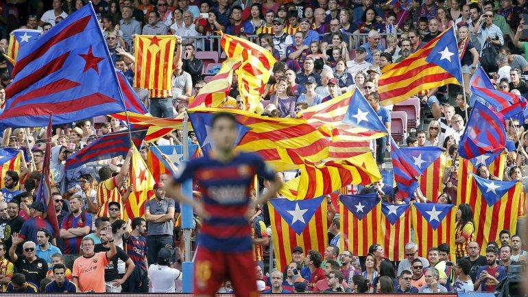 Lasesteladas son un símbolo de la independencia catalana.