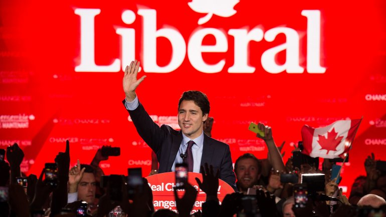El liberal Justin Trudeau, nuevo primer ministro de Canadá