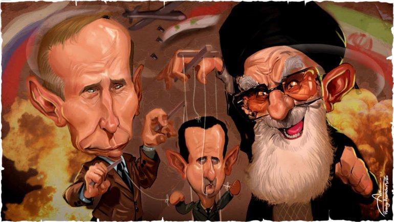 Vladimir Putin,Bashar Al-AssadyAyatollah Alí Khamenei
