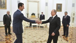Bashar al Assad viajó al exterior por primera vez desde el inicio de la Guerra Civil en Siria