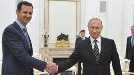 Bashar al Assad y Vladimir Putin mantuvieron un encuentro en Mosc