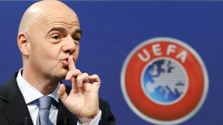 Gianni Infantino es uno de los cinco candidatos a presidente de la FIFA