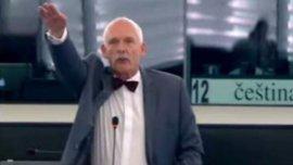 Un eurodiputado hizo el saludo nazi en plena sesión