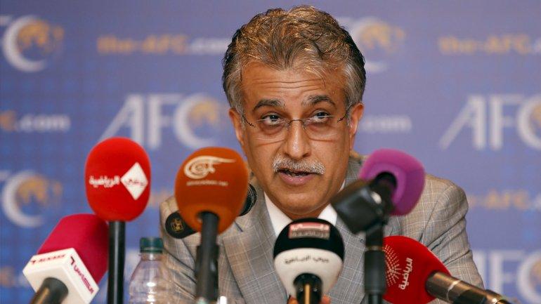 EljequeShaikh Salman bin Ibrahim al Jalifa, candidato a presidente de la FIFA