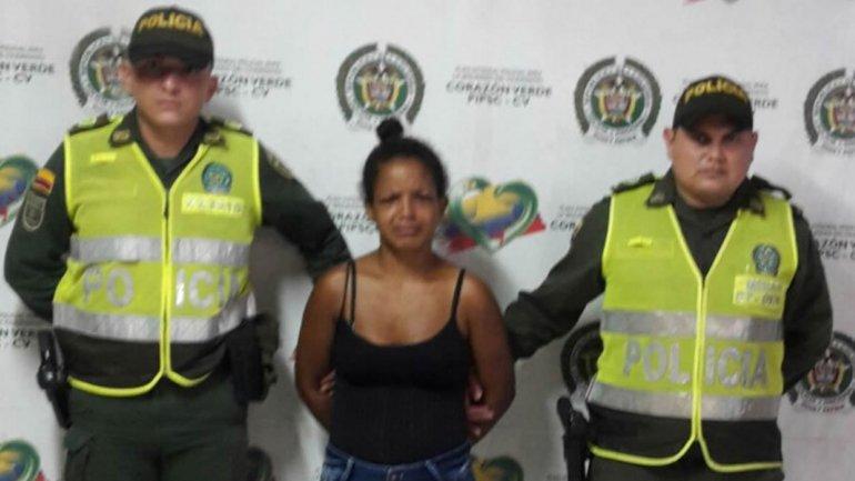 Paola Padilla Nájera fue detenida por las autoridades colombianas