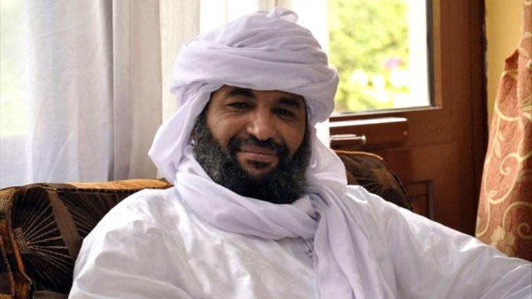Iyad Al Ghaly, el jefe de los terroristas de Ansar Al-Dine, en Mali.