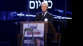 Bill Clinton participó del homenaje a Isaac Rabín en Tel Aviv