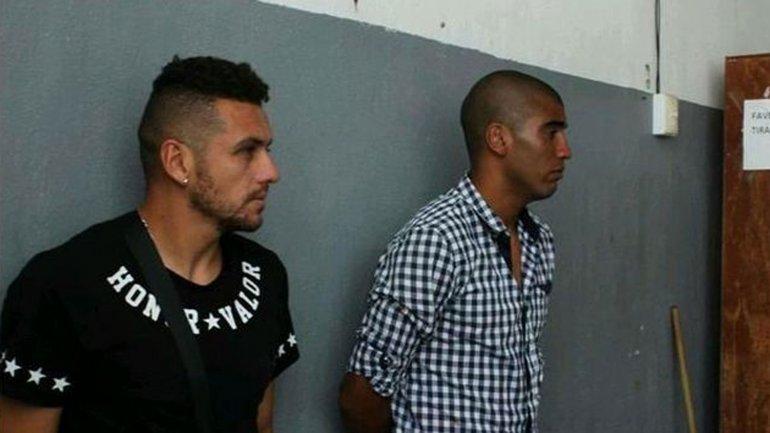 Alejandro Molina y Luis Gorocito, los agresores