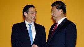 Los presidentes de Taiwan y China en una cumbre histórica