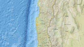 El sismo de 6,8 grados Richter tuvo su epicentro a47km de Ovalle