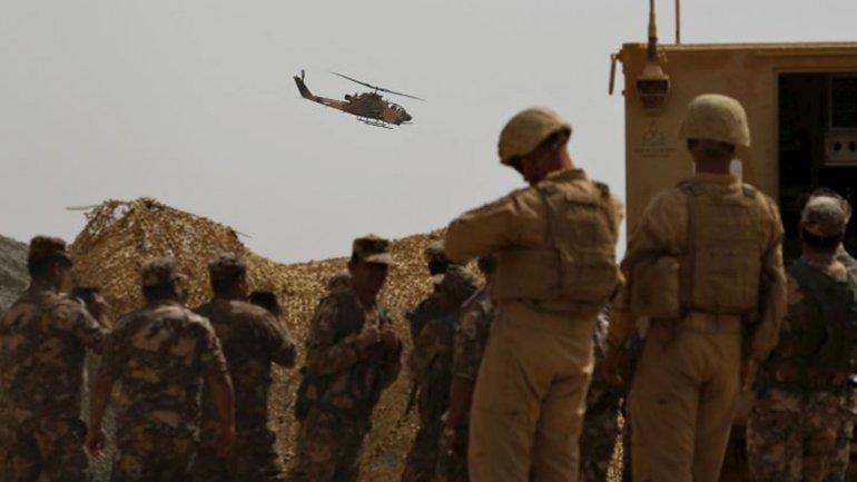 Jordania recibe apoyo militar de Estados Unidos e Israel
