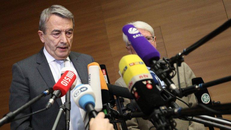 El ex presidente de la DFB Wolfgang Niersbach dimitió el pasado 9 de noviembre por un escándalo de corrupción en el Mundial 2006