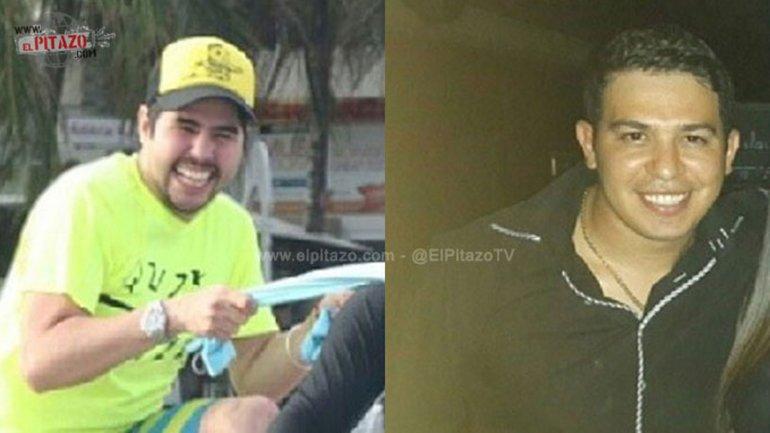 Efraín Campos Flores y Francisco Flores de Freitas, sobrinos de la primera dama venezolana