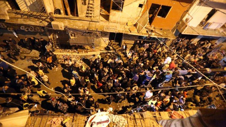 El atentado en Beirut dejó al menos 41 muertos