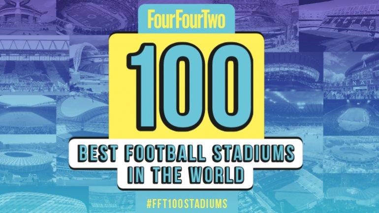 La revistaFourFourTwoelaboró la lista de 100 mejores estadios de fútbol en base a la historia, ambiente, aforo, arquitectura y entorno