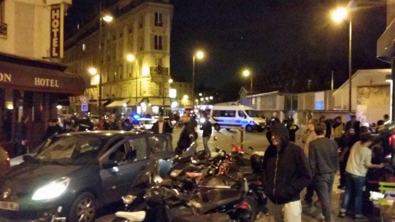 El ataque se produjo en pleno centro de París