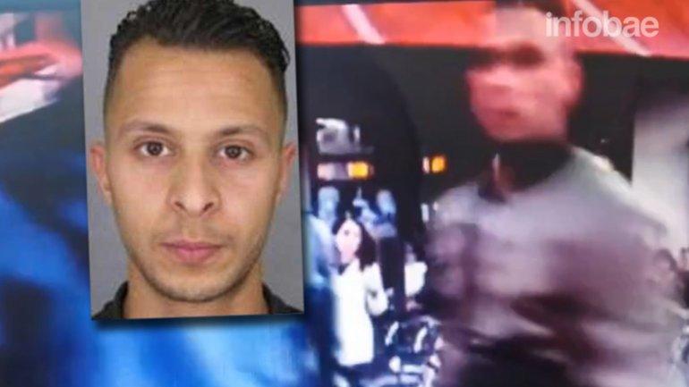 Salah Abdeslam fue captado por cámaras de seguridad en París el pasado 13 de noviembre
