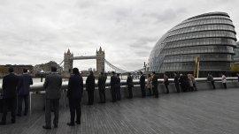 Minuto de silencio en Londres