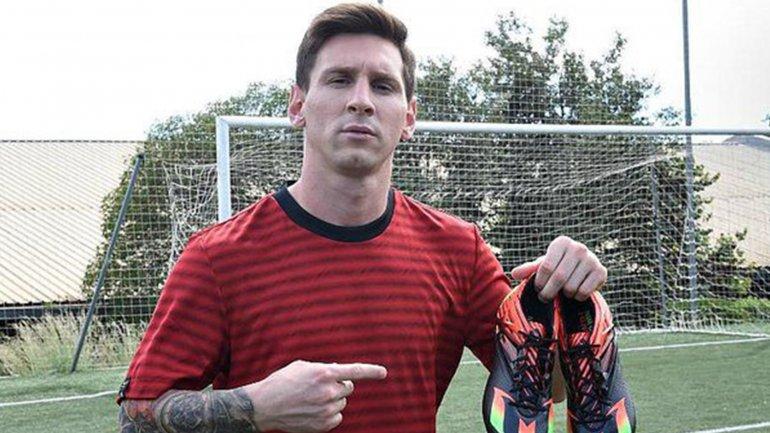 Los nuevos botines adidas que Messi estrenará contra Real Madrid