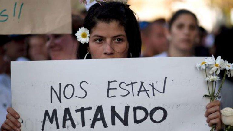 El número de mujeres asesinadas aumentó entre 2014 y 2015