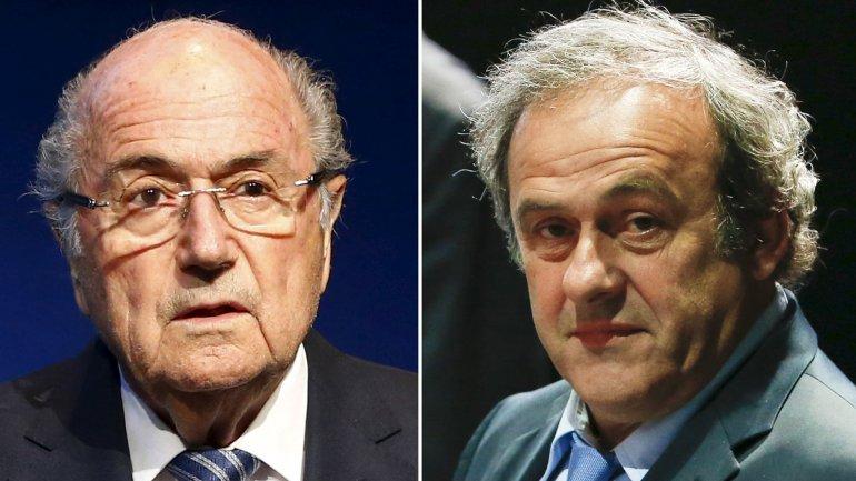 Joseph Blatter y Michel Platini podrían ser suspendidos por hasta seis años