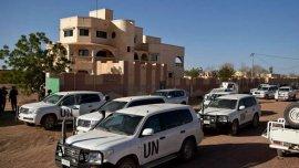 Un convoy de Naciones Unidas en Mali