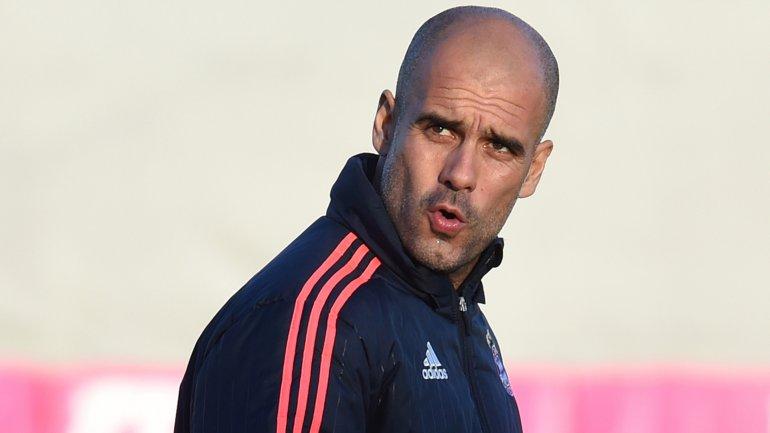 Josep Guardiola, ex entrenador del Barcelona y actual del Bayern Munich