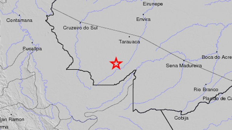 Un terremoto de 6,7 grados Richter sacudió parte de Brasil