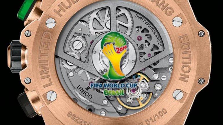 La edición especial de Hublot para el Mundial Brasil 2014