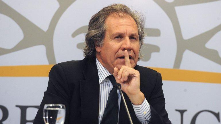Luis Almagro volvió a hablar de la crisis venezolana y le respondió a Nicolás Maduro