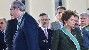 Dilma Rousseff y Eduardo Cunha se encuentran suspendidos de sus respectivos cargos