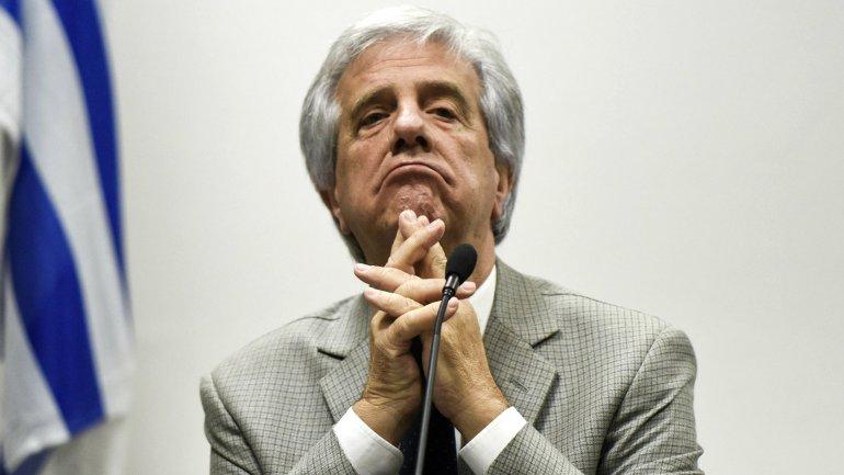 Sólo el 28% de los uruguayos aprueba la gestión del presidente Tabaré Vázquez
