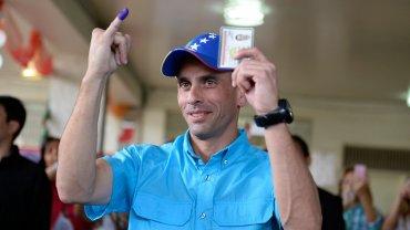 Henrique Capriles consideró que el referéndum es la mejor opción para terminar con el chavismo
