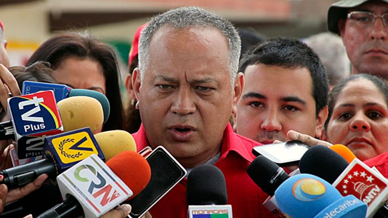 Diosdado Cabello dijo que la oposición está alarmada