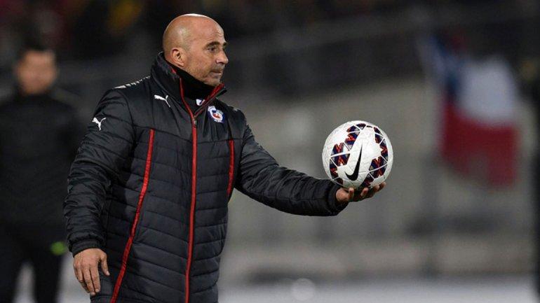 Jorge Sampaoli no seguirá al frente de la selección chilena si no respetan su proyecto