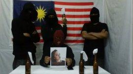 Un grupo malayo autodenominado ISIS 69
