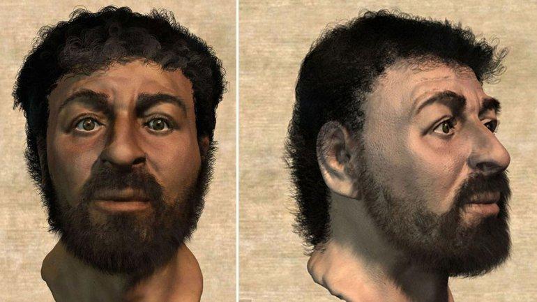 El supuesto rostro de Jesús. Fue presentado en 2001, pero cada año se viraliza.
