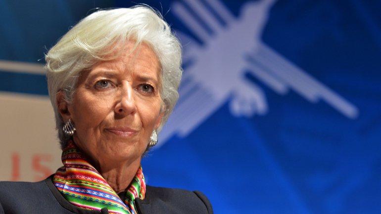 Christine Lagarde, presidente del Fondo monetario Internacional