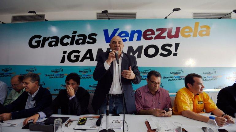 La opositora Mesa de Unidad Democrática