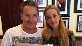 Ricardo Montaner junto a Lilian Tintori