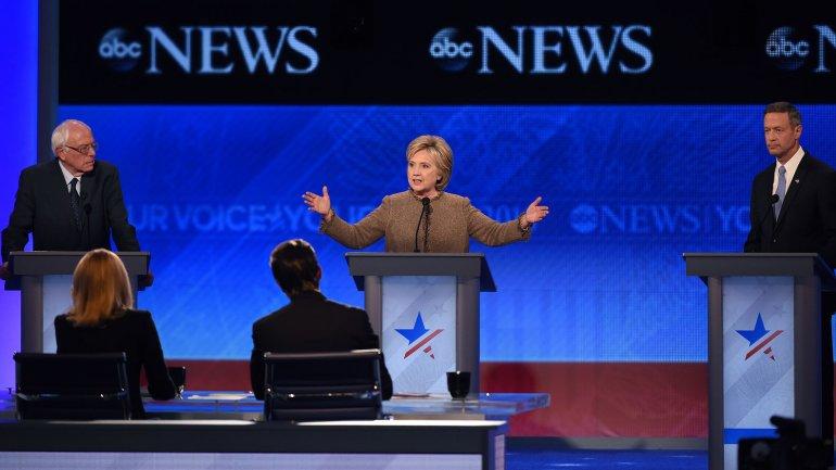 El tercer debate demócrata fue el último del 2015
