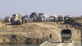 Las tropas iraquíes controlan las fronteras de la ciudad