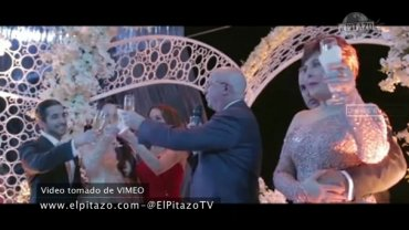 La boda del hijo de Roberto Rincón