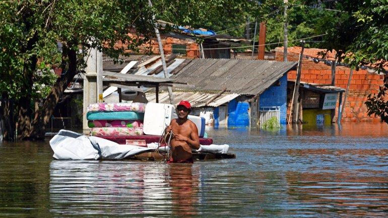 Asunción es la ciudad más golpeada por las inundaciones