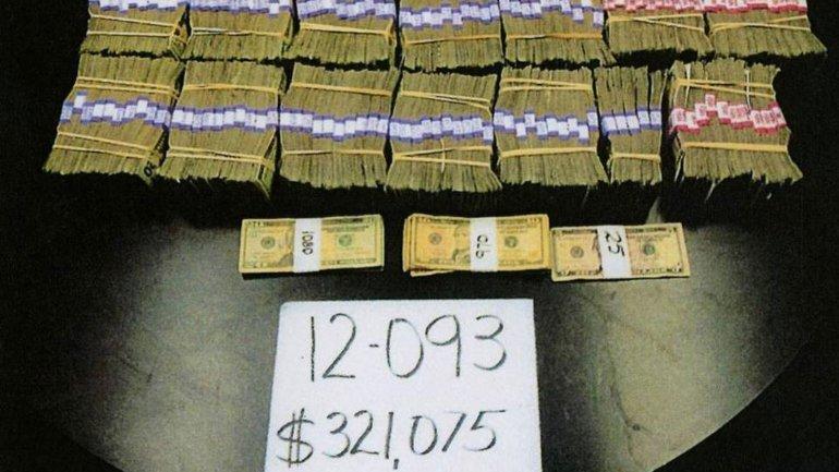 Parte del dinero que utilizó la policía para la investigación